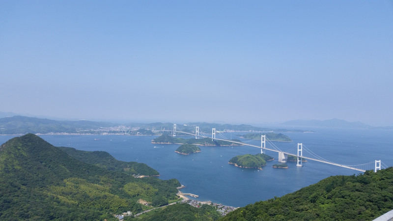 魚松さん、しまなみ海道へ行く