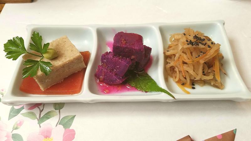 紫芋と柚子