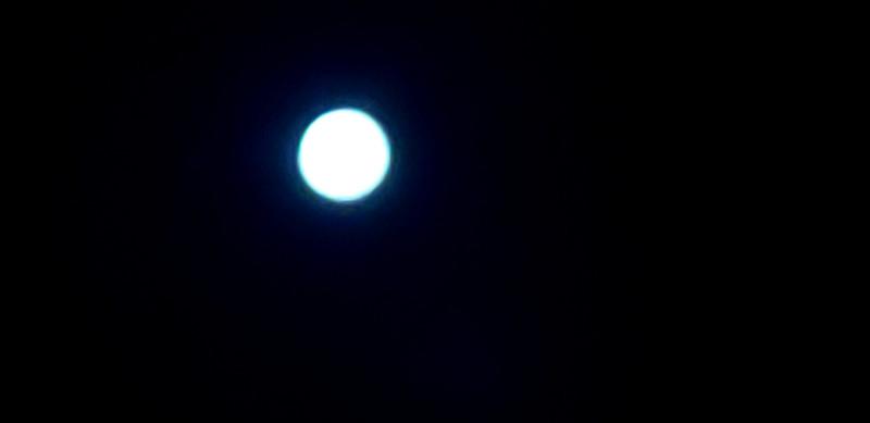 平成最後の満月🌕