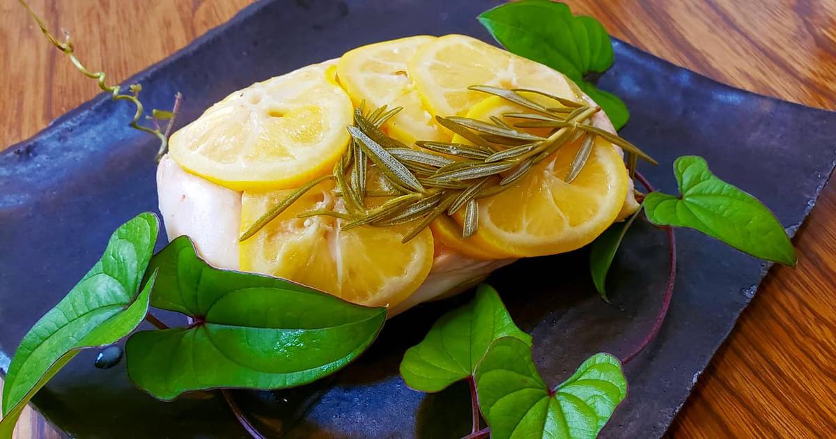 この夏はレモン&岩塩のチキンだ